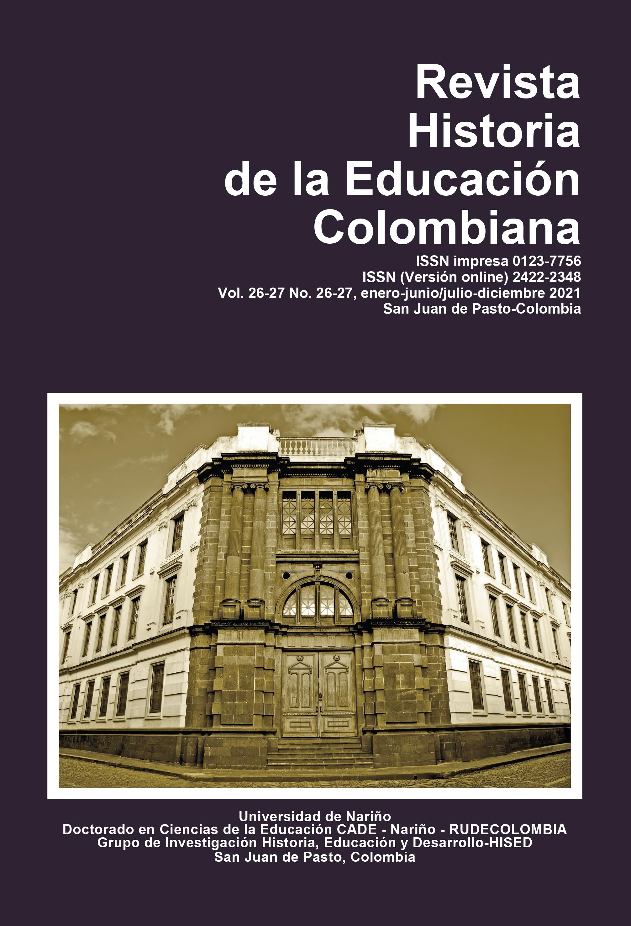 logo revista hitoría de la educación Colombiana