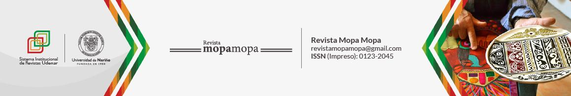 Revista Mopa Mopa- IADAP ( Instituto Andino de Artes Populares)- Universidad de Nariño