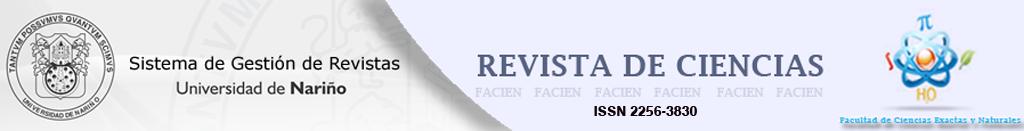 Revista de Ciencias - Universidad de Nariño