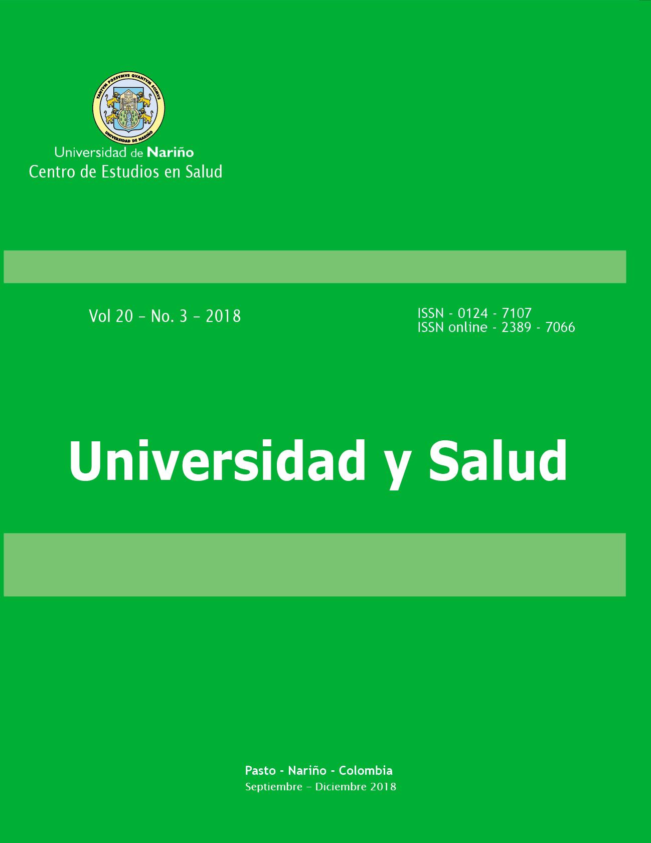UNIVERSIDAD Y SALUD