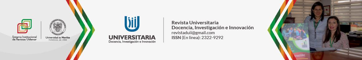 UNIVERSITARIA: Docencia, Investigación e Innovación